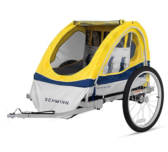 Amazon.com: Remolque doble para bicicleta Schwinn Echo ...