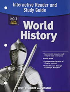 Amazon world history ancient civilizations student edition world history full survey interactive reader and study guide fandeluxe Images