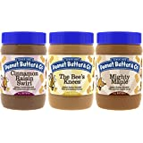 Peanut Butter & Co. Breakfast Pack, Gluten Free, 16 Ounce Jars (Pack of 3)
