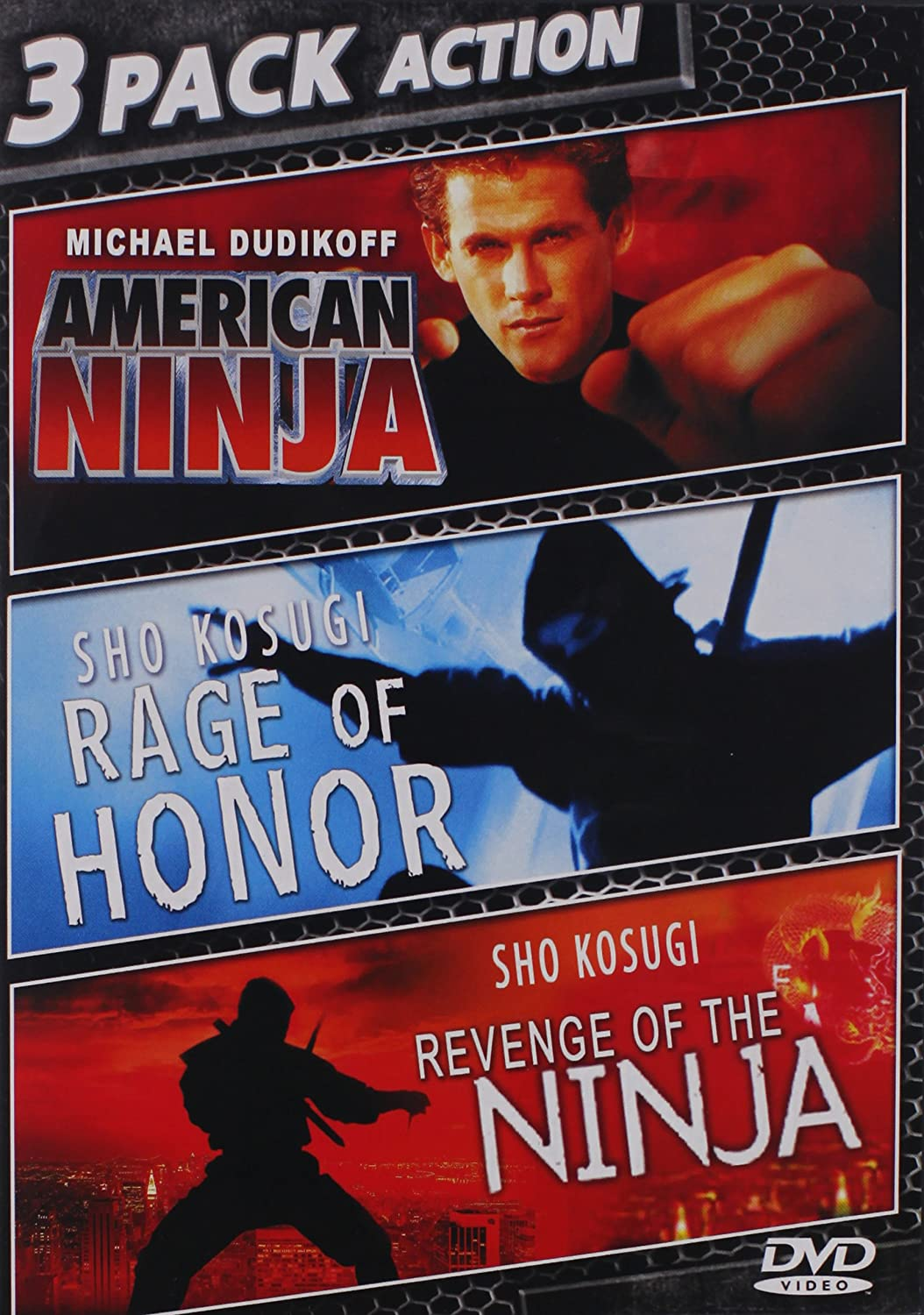 American Ninja & Rage of Honor & Revenge of Ninja Reino ...