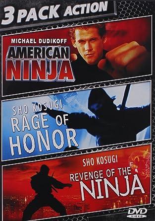 Amazon.com: American Ninja / Rage of Honor / Revenge of the ...