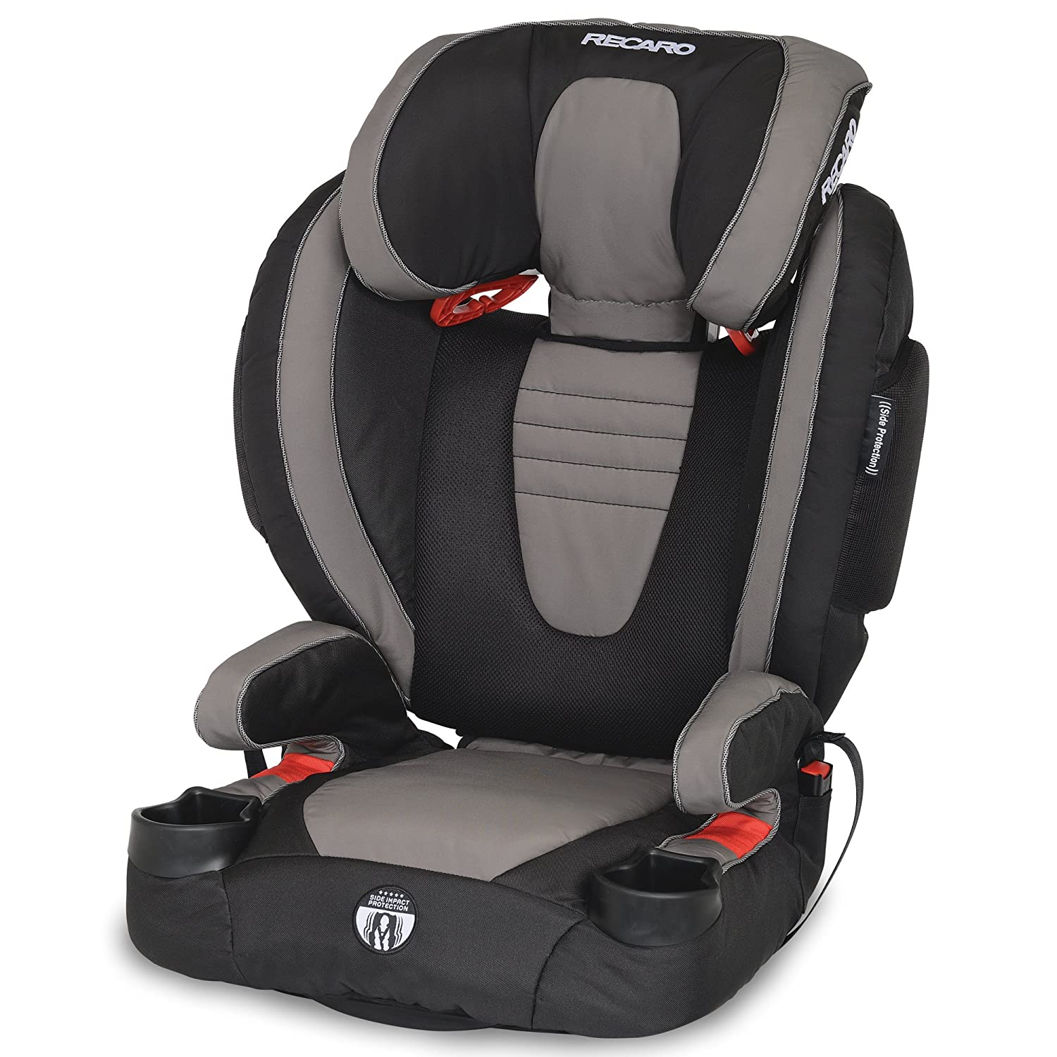 recaro performance booster high back booster car seat knight ebay. Black Bedroom Furniture Sets. Home Design Ideas