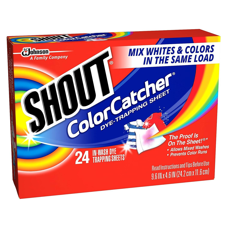 amazoncom shout color catcher sheets 24ct prime pantry