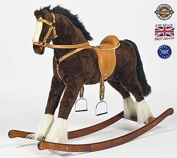Grand cheval à bascule MJMark Titan - Jouet