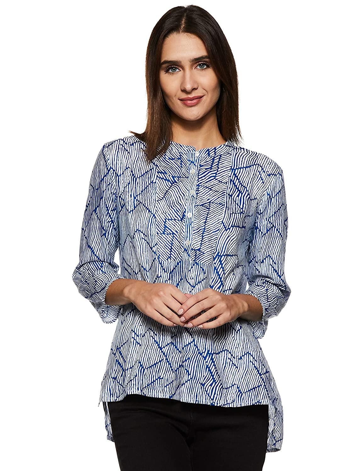 Stylevile Women's Button Down Comfort fit top