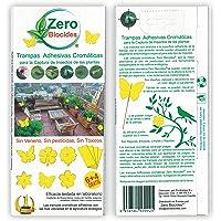 Zero Biocides 10 Trampas Adhesivas Cromáticas para la