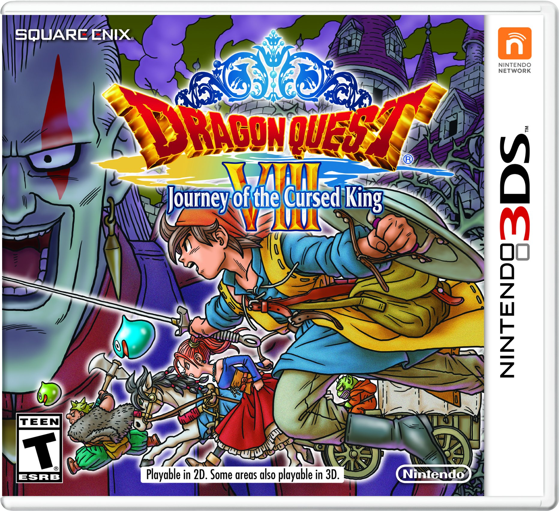 Amazon com: Dragon Quest VIII: Journey of the Cursed King - Nintendo