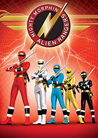 Image result for mighty morphin alien rangers dvd