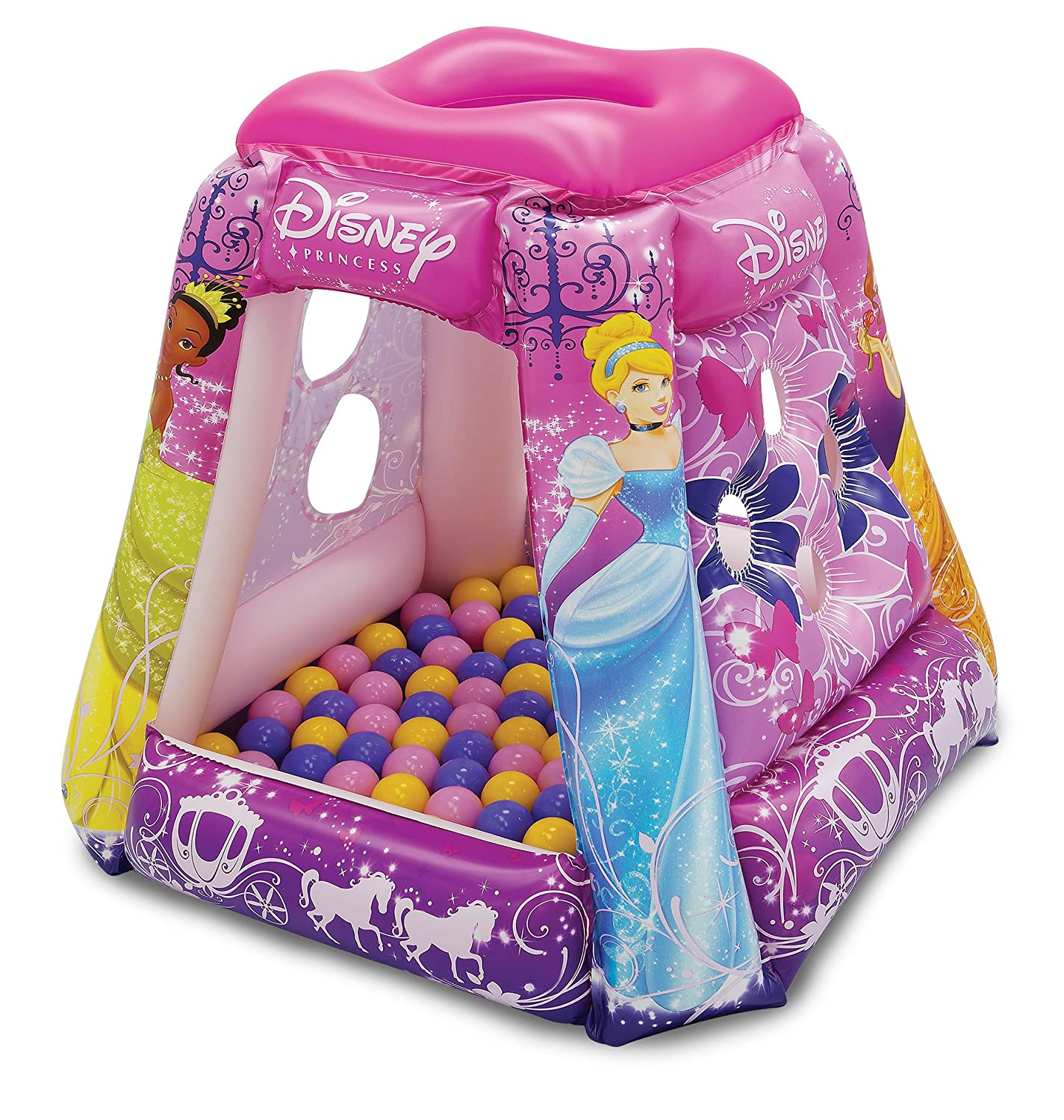 Disney Princess Glitter 'N Glam Playland with 20 Balls Walt Disney 3401
