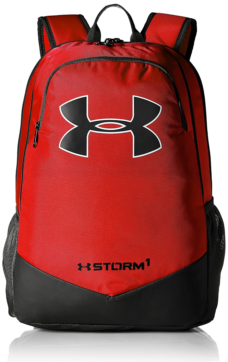 cc4c916263 Under Armour Boys Storm Scrimmage Backpack Black  (001 )  Silver One Size  Under Armour Bags 1277422