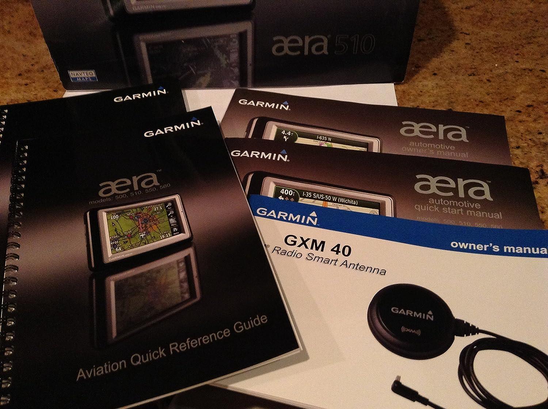 Garmin Aera 510 Color Touchscreen Aviation Gps Americas 196 Wiring Diagram Cell Phones Accessories