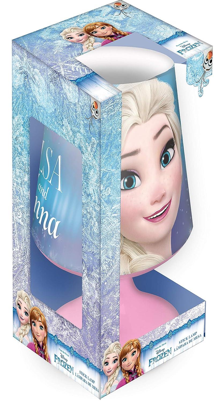 WD19705 KIDS EUROSWAN Disney la Reine des Neiges Lampe de Bureau