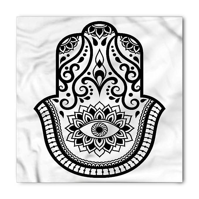 Amazon Lunarable Hamsa Bandana Eye Symbol Abstract Hand Palm