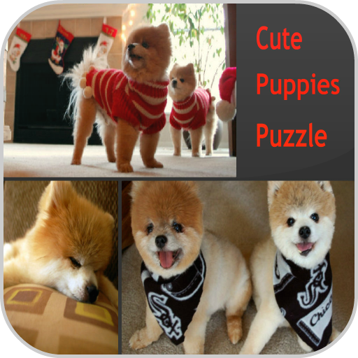 Cute Puppies Puzzle Space Voyage Jigsaw