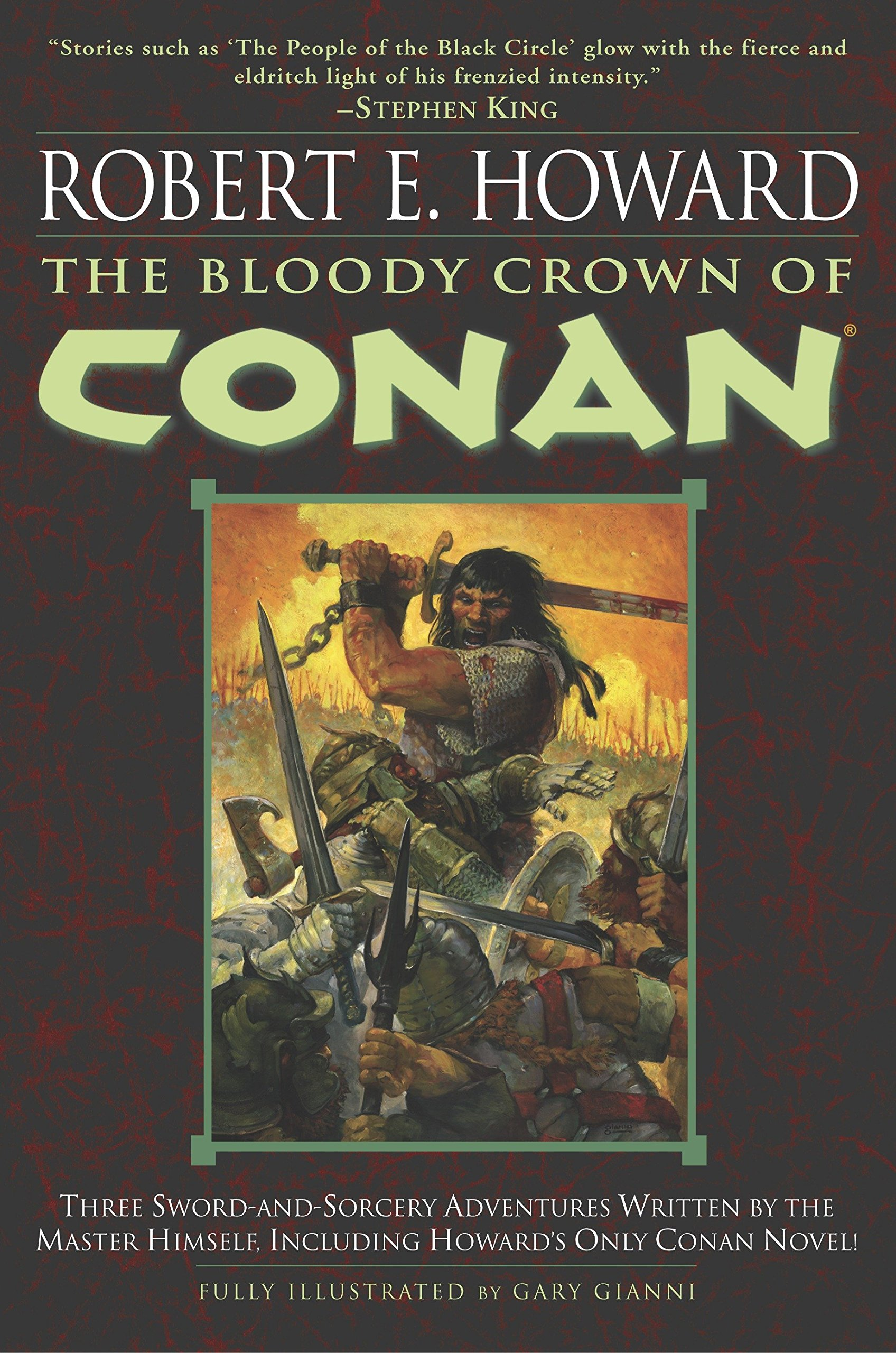 Download The Bloody Crown of Conan (Conan of Cimmeria, Book 2) pdf