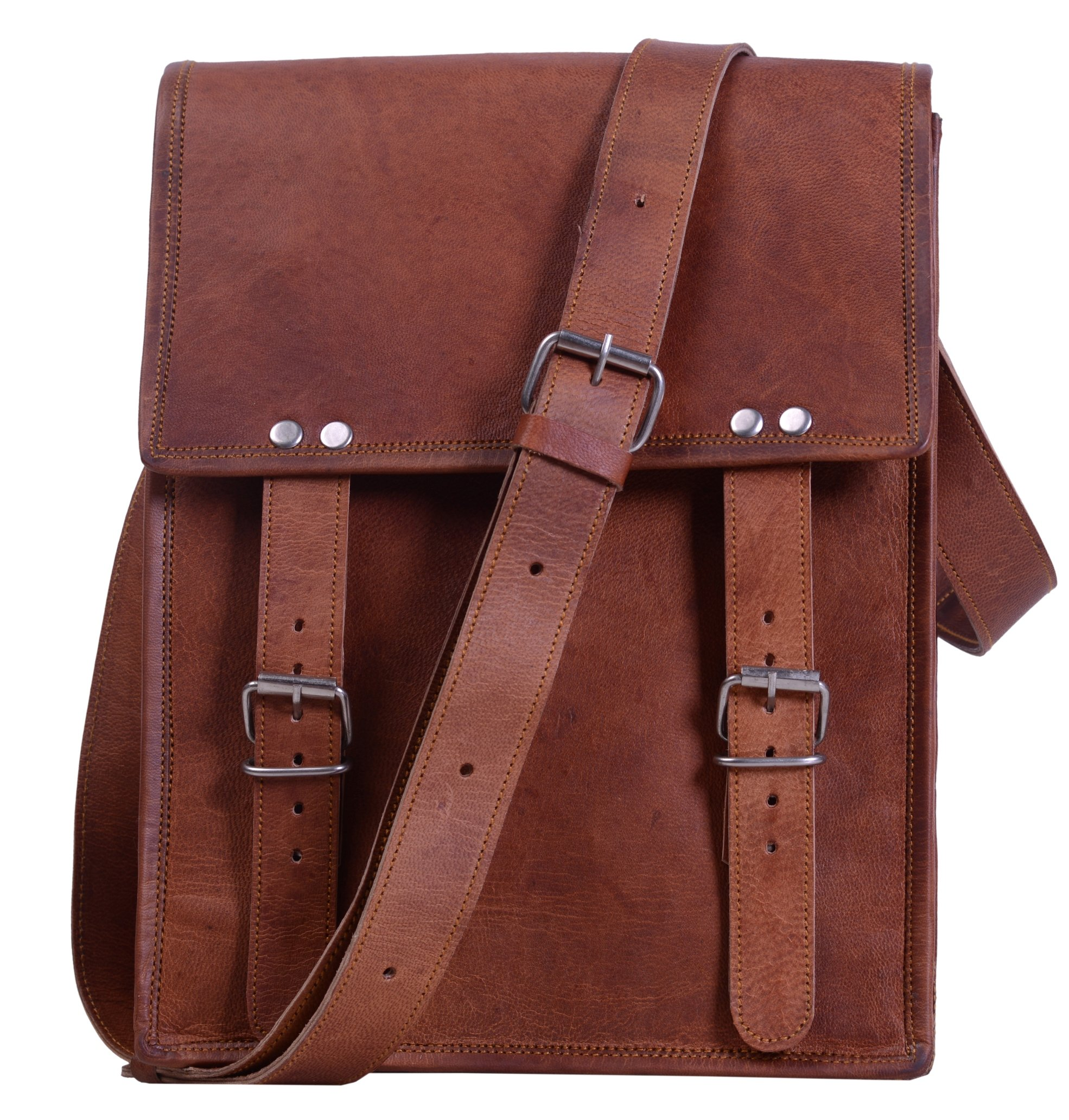 0f9c81689514 Komal s Passion leather 11 Inch Handmade Standing Ipad Leather Messenger  Satchel Bag product image