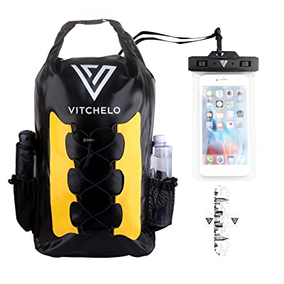 Mitchel 30L Waterproof Dry Bag Backpack