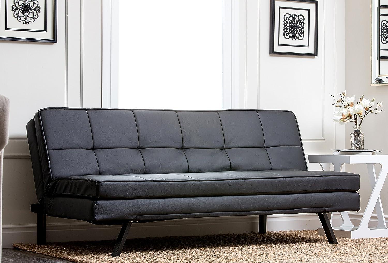 Amazon.com: Abbyson Living Bayside Cojín de sofá de piel ...