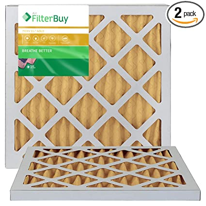 AIRx Filters Allergy 16x16x1 Air Filter Replacement Pleated MERV 11 6-Pk