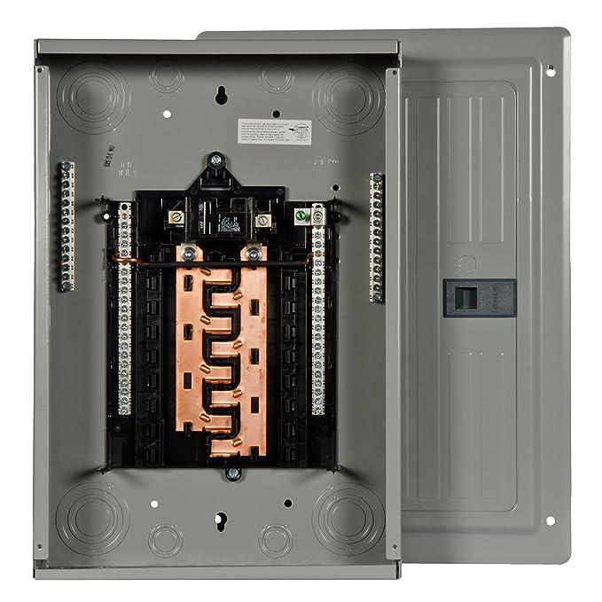 P1624B1100CU 100-Amp 16-Space 24-Circuit Main Breaker Load Center
