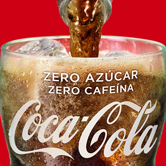 Coca-Cola Zero Azúcar Zero Cafeína Mini Lata - 250 ml (Pack de 6): Amazon.es: Alimentación y bebidas