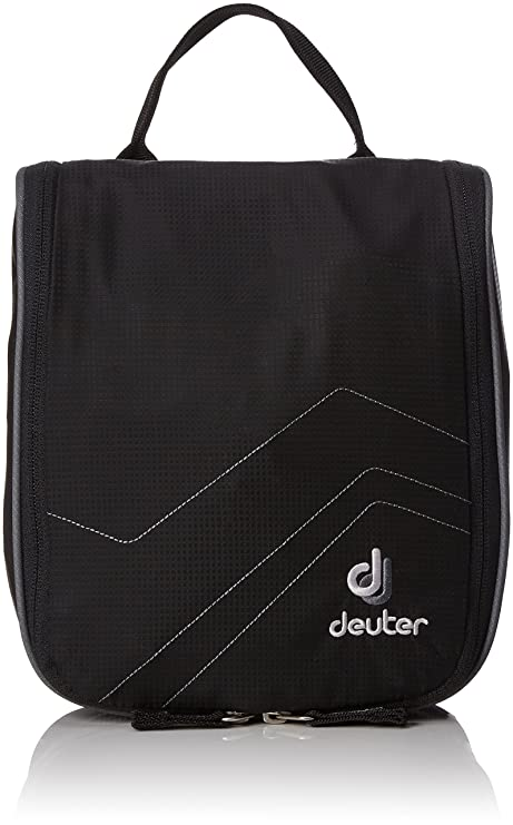 deuter beauty case  Deuter, Beauty Case Wash Center I, Nero (Black-Titan), 22 x 19 x 8 ...