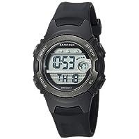 Armitron Sport Women's 45/7088BLK Digital Chronograph Black Resin Strap Watch