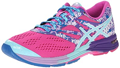 meet 60057 c2cf5 ASICS Women s Gel-Noosa TRI 10 Running Shoe, Pink Glow Aqua Splash