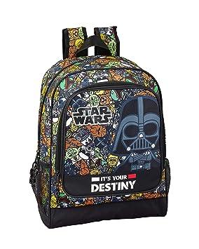 Star Wars Galaxy Oficial Mochila Escolar 320x140x420mm: Amazon.es: Equipaje