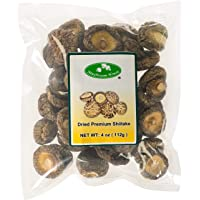 Mushroom House (MUSI1) Dried Shiitake Mushrooms, 4 Ounce