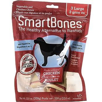 Amazon.com : SmartBones Rawhide-Free Dog Chews, Made With