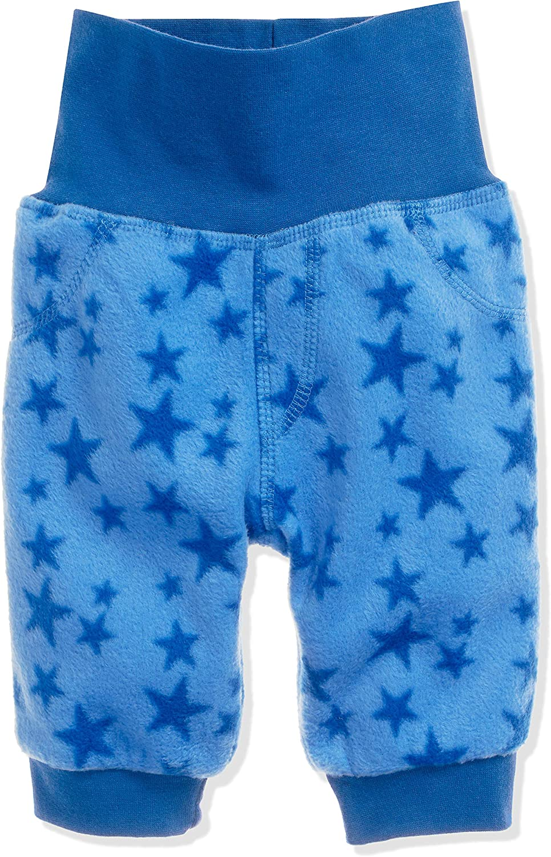 Schnizler Pumphose Fleece Sterne mit Strickbund Pantaloni Unisex-Bimbi