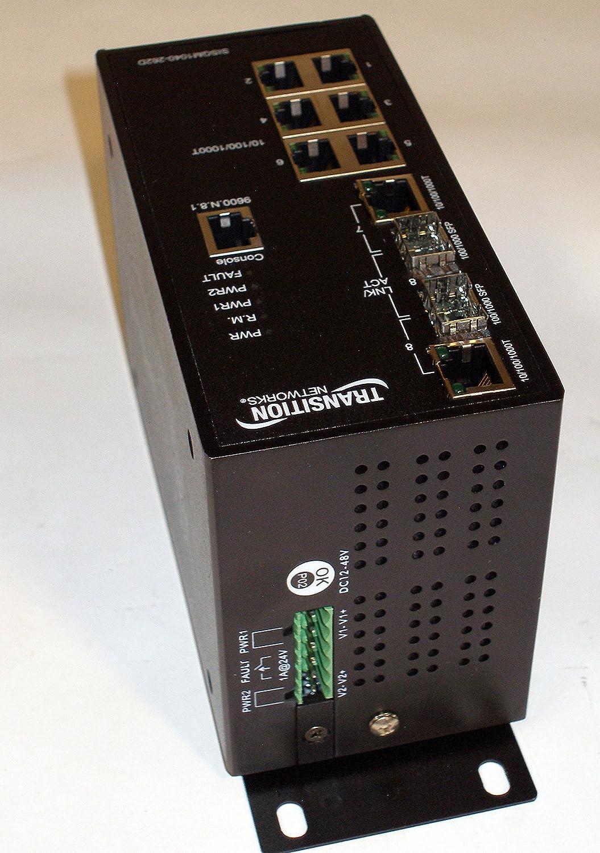 2 X Sfp 8 Port 2 Slot 8 X 10//100//1000base-t Transition Networks SISGM1040-262D-LR Ethernet Switch