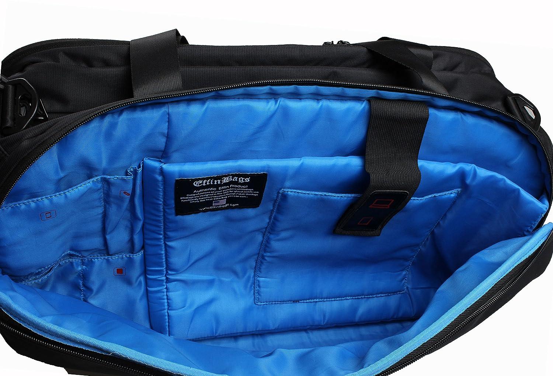 Effin World Tour Traveler Black Duffel Bag