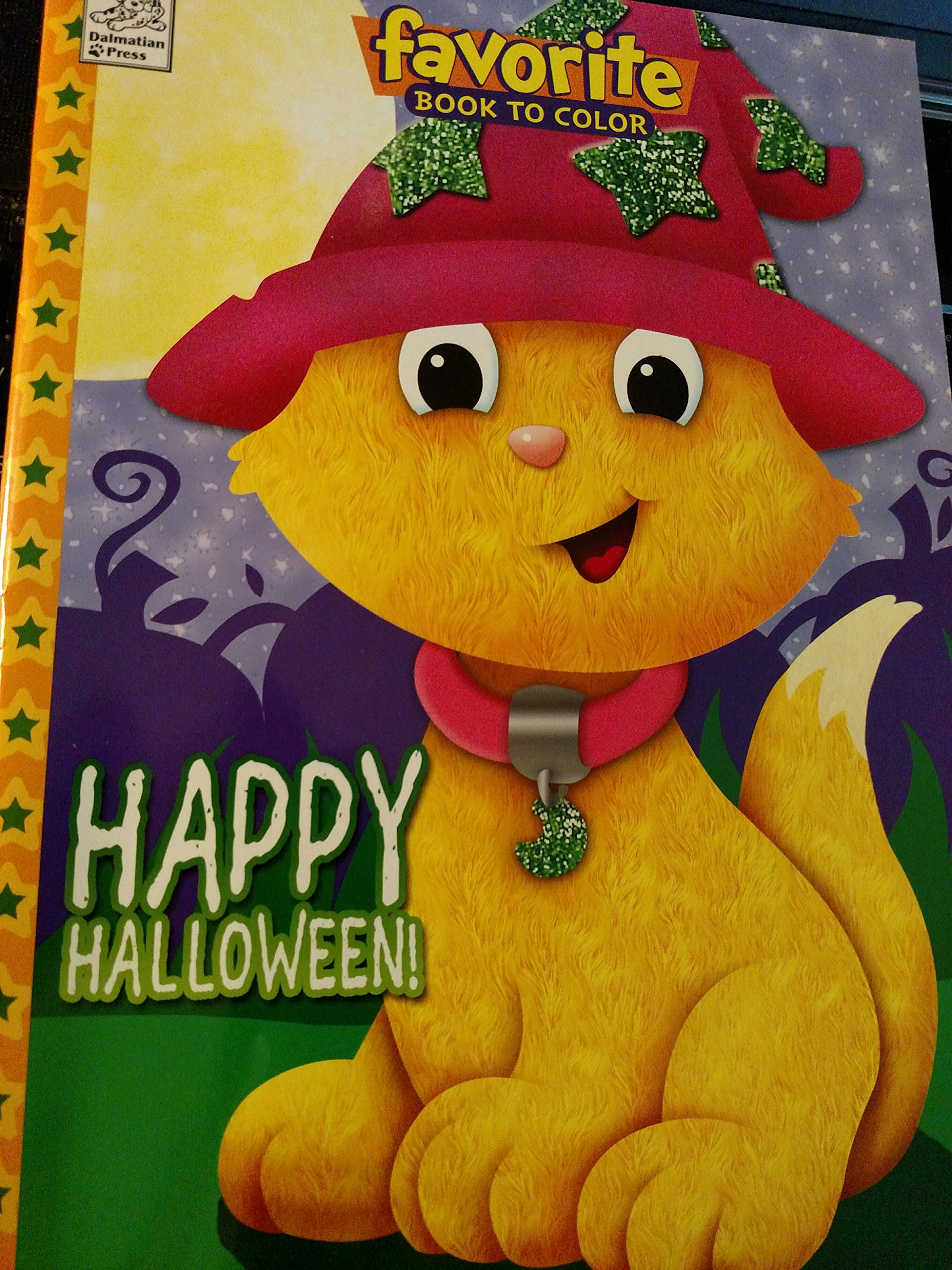 Happy Halloween Favorite Book to Color with Tear & Share Pages PDF