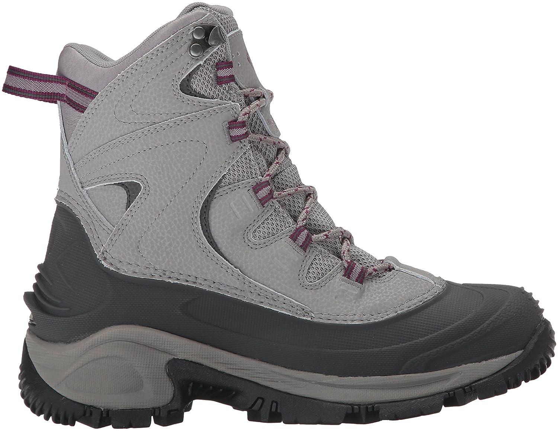 Columbia Women's Bugaboot II Snow Boot B0183KTGV2 7.5 B(M) US|Light Grey, Dark Raspberry