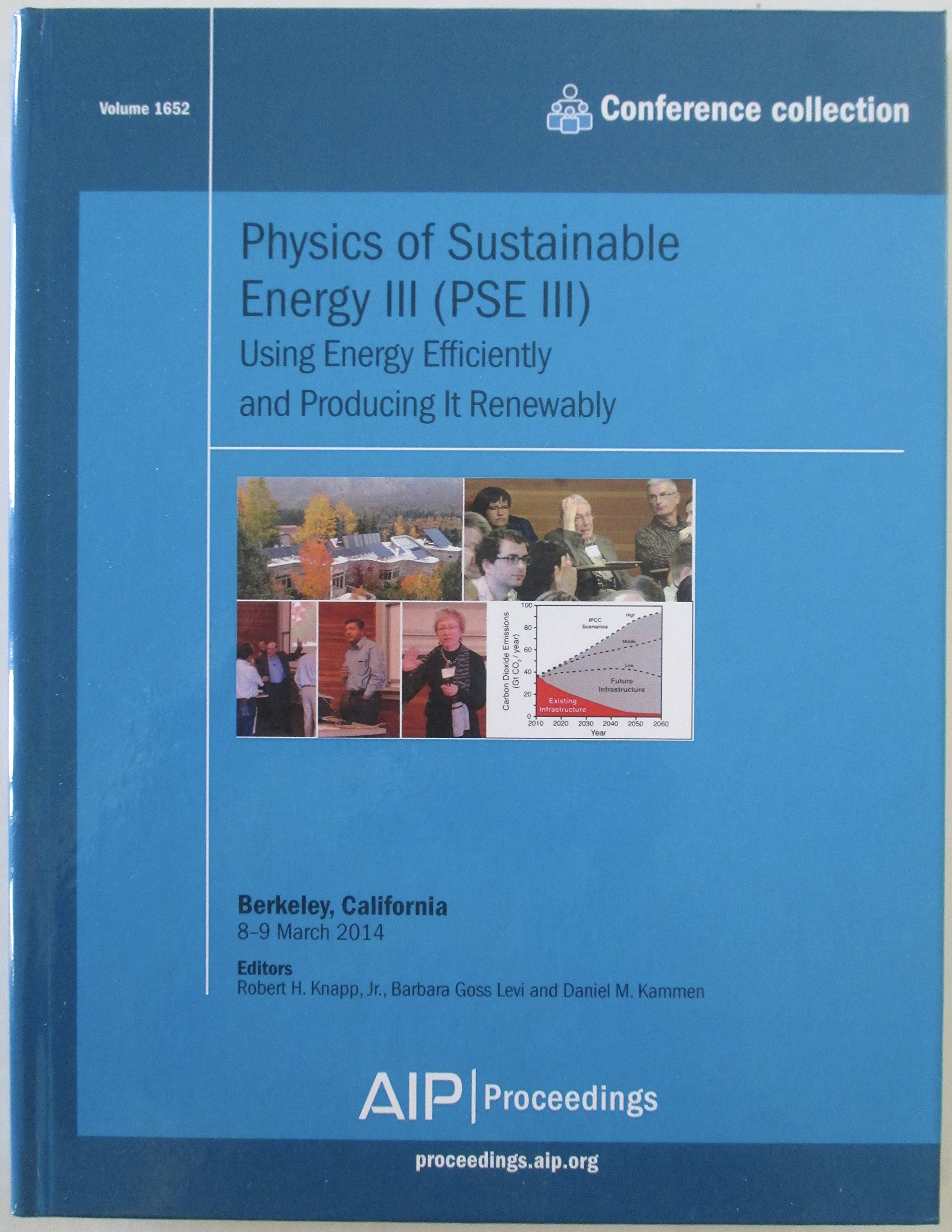 Physics of Sustainable Energy III: Conference Proceedings
