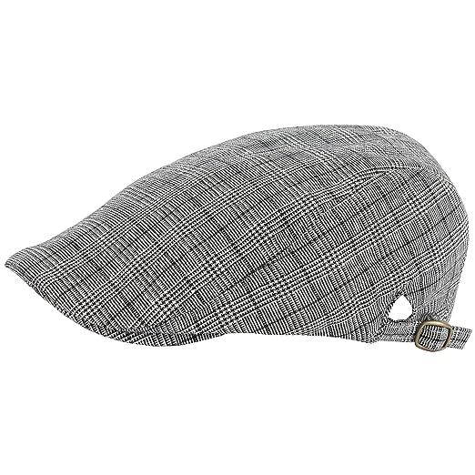 bb1ea57c39561 RaOn G114 Newsboy Cap Houndstooth Check Pattern Summer Cool Plus Big Size  XL XXL Hat (
