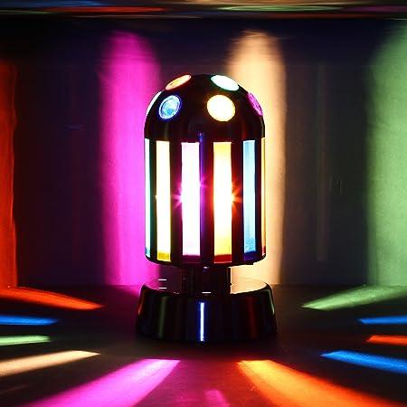 LÁMPARA DE DISCOTECA - Proyector de rayos de luz multicolor que ...