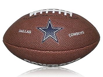 Wilson Football NFL Cowboys Logo Mini - Balón de fútbol americano (caucho) f66524e2fa4