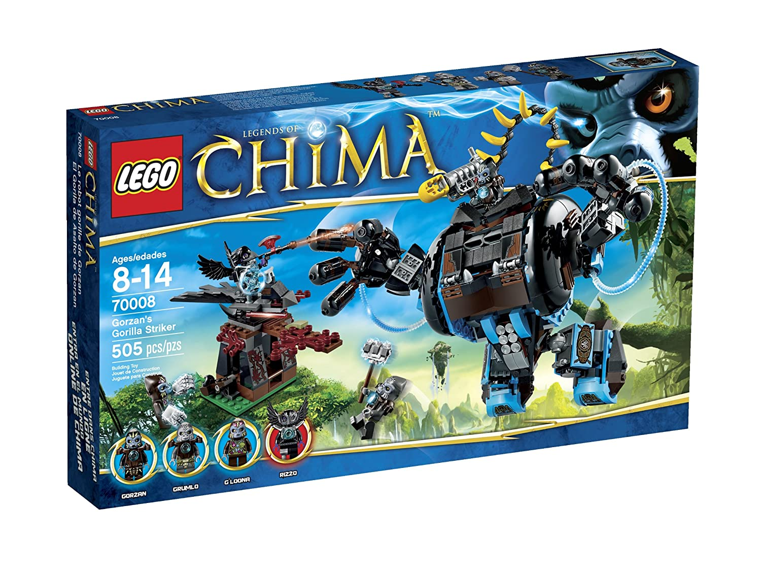 Lego Chima Coloring Pages Pdf : Famous lego chima gorilla coloring pages gallery entry level