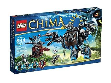 Lego, Legends of Chima, Gorzan\'s Gorilla Striker (70008)