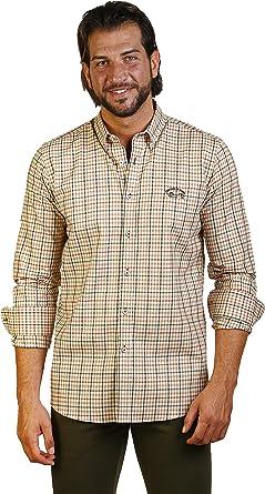 THE TIME OF BOCHA Camisa Hombre JI1VILLELACAB-433: Amazon.es: Ropa y accesorios