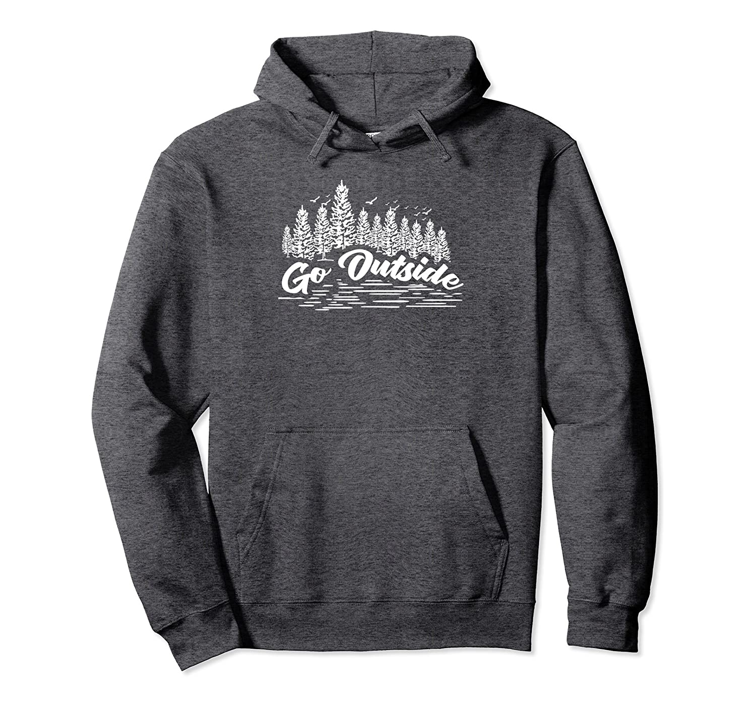 Go Outside Outdoor Adventure Nature Life Hoodie-Newstyleth