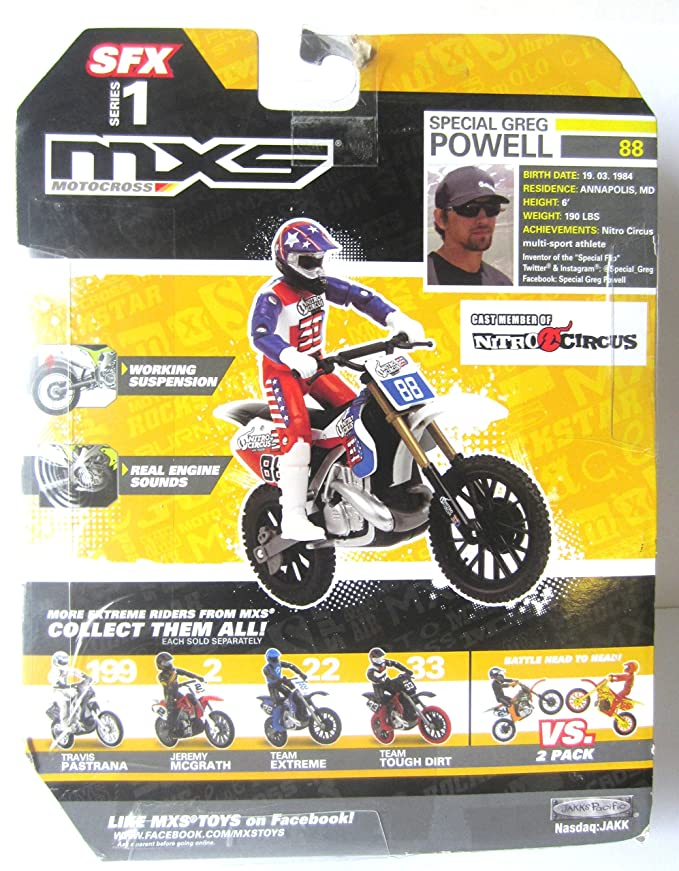 Amazon.com: MXS Motocross, SFX Series 1, Moto y Rider ...