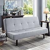 Amazon Com Beige Convertible Sofa High Quailty High