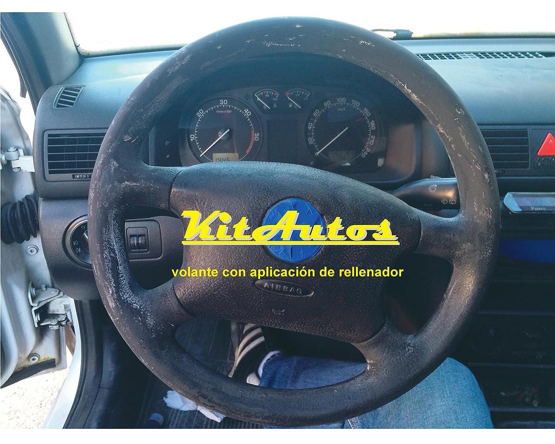 KITAUTOS kivp Kit Restaurador Volantes De Piel Y Plastico Color Negro: Amazon.es: Coche y moto