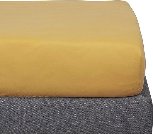 Kadolis Sábana Bajera de algodón orgánico - Infantil 90 x 200 cm ...