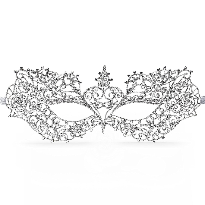 Fifty Shades of Grey Darker Anastasia Masquerade Mask: Amazon.co.uk ...