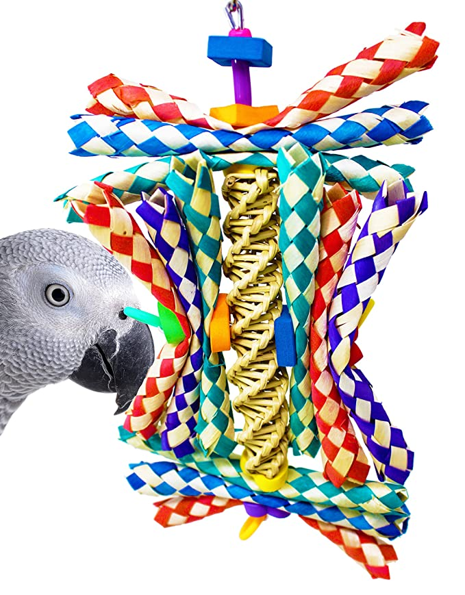 Bonka Bird Toys 1242 HELIX BIRD TOY parrot cage toys cages cockatiel conure african grey toys amazon